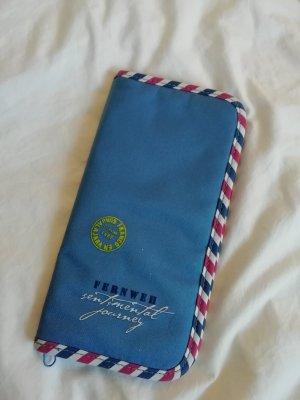 Reisemappe Mäppchen Brieftasche Reise Flug