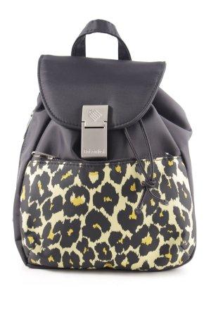 reisenthel Mini sac à dos noir-jaune primevère motif léopard