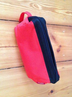 Reisenthel Reisetasche, Kosmetiktasche, rot schwarz