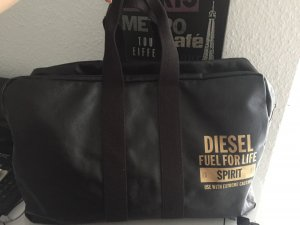 Diesel Luggage dark brown-sand brown
