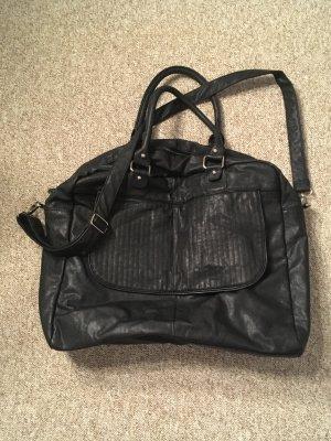 Pieces Sac de voyage noir faux cuir
