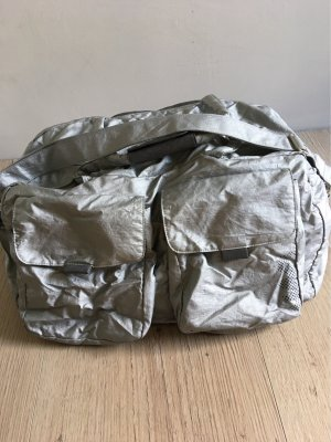 Weekender Bag silver-colored