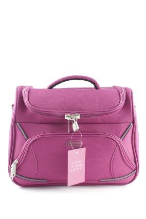 Reisetasche violett Business-Look