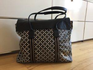 Reisetasche von By Malene Birger, schwarz / weiß