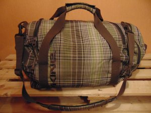 Reisetasche von Dakine in braun grün