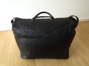 Prada Bagage noir cuir