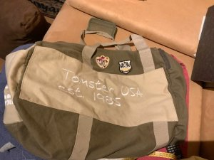 Tomster USA Sac weekender multicolore