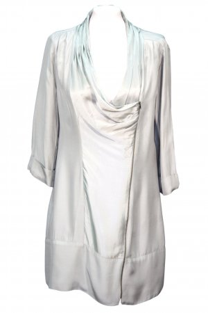 Reiss Asymmetrisches Kleid in Grau