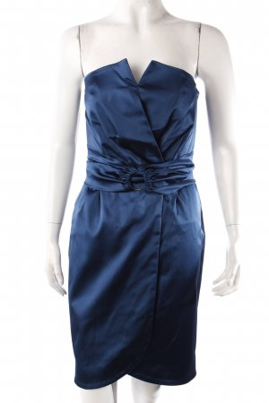Reiss Bustier Dress petrol