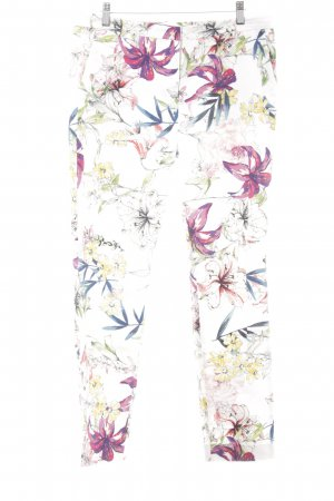 Reiss Caprihose Blumenmuster Casual-Look
