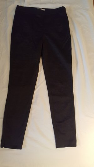 Reiss Drainpipe Trousers black cotton