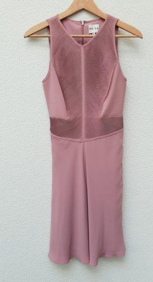 Reiss Cocktail-Kleid roséfarben