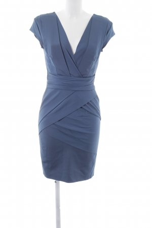Reiss Cocktailkleid blau Business-Look