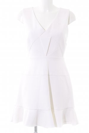 Reiss Cocktailkleid creme Business-Look
