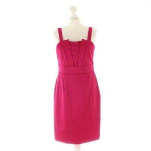 Reiss Eyecatcher Träger Kleid Dress Cocktailkleid Pink Magenta Gr 36