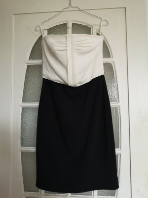 1971 Reiss Midi-jurk wit-zwart