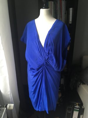 1971 Reiss Robe tunique bleu