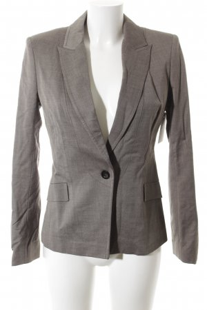 Reiss Kurz-Blazer graubraun-hellbraun Business-Look