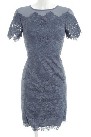 Reiss Kurzarmkleid blau Elegant