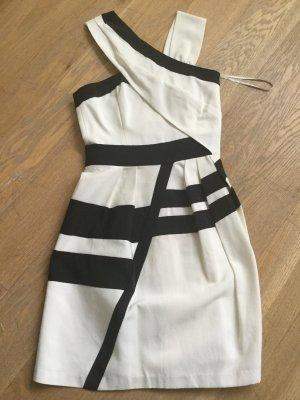 Reiss London Kleid schwarz weiß