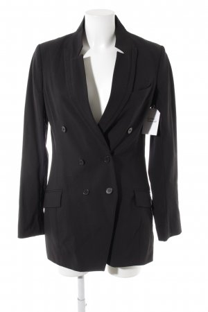 Reiss Long-Blazer schwarz Casual-Look
