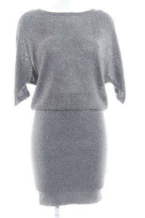 Reiss Minikleid silberfarben-dunkelgrau Elegant