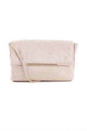 Reiss Pochette beige chiaro stile minimalista