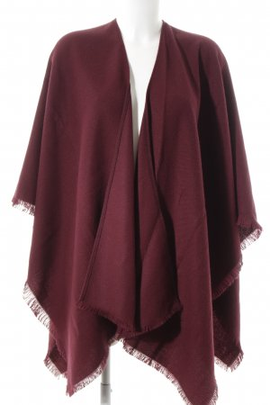 Reiss Poncho purple casual look