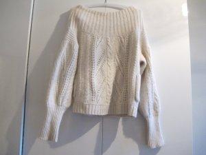 REISS Pullover M/L Ellen Lammwolle Angora Wollpullover Sweater
