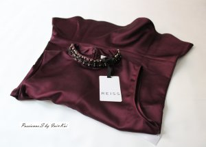Reiss Satin Abend Party Oberteil Gr.xxs 32 Edel