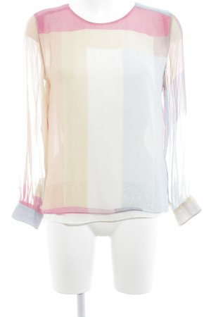 Reiss Seidenbluse abstraktes Muster Casual-Look