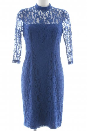 Reiss Spitzenkleid blau Elegant