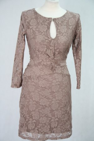 Reiss Spitzenkleid in Rosa