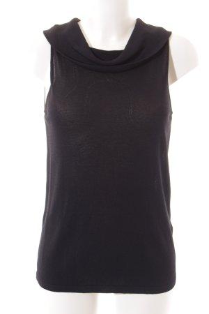 Reiss Stricktop schwarz minimalistischer Stil