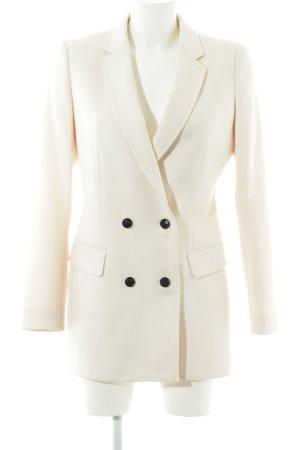Reiss Cappotto in lana beige chiaro stile semplice