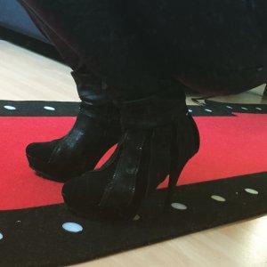 Reißverschluss Zipper Ankle Boots Stiefeletten