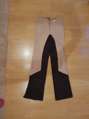 HKM Sports Equipment Pantalon cigarette noir-marron clair polyester