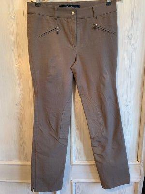 Pamela Henson Pantalone da equitazione marrone-grigio