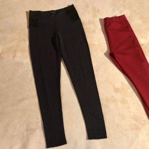 Reiterhose rot und blau Zara Trafaluc und Selected Femme S