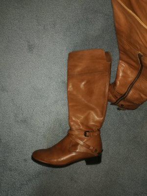 Riding Boots beige leather