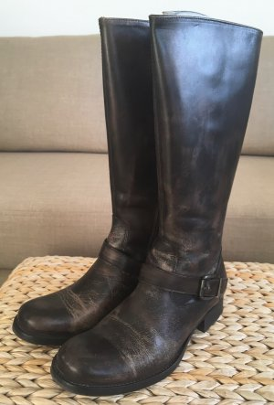 Riding Boots multicolored leather