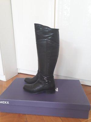 Mexx Rijlaarzen zwart Leer