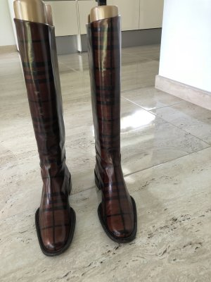Burberry Riding Boots multicolored leather