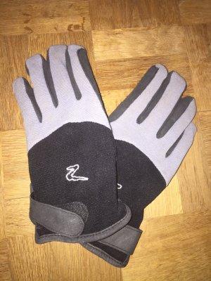 Handschoenen zwart-grijs