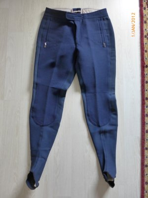 Bogner Riding Trousers dark blue new wool