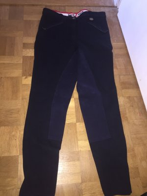 Riding Trousers black-dark blue
