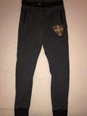 Loesdau Pantalone da equitazione grigio scuro