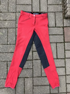 Pfiff Reitsport Riding Trousers black-red