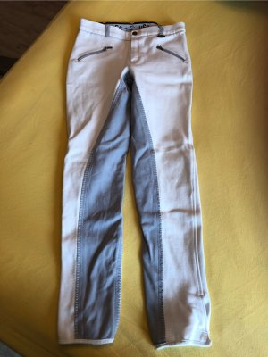 Riding Trousers white-light grey