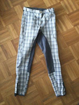 Pantalone da equitazione multicolore Tessuto misto